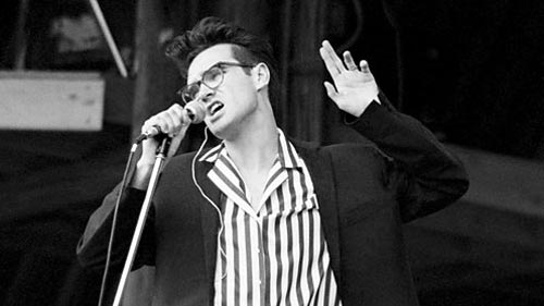 The Smiths at Glastonbury Festival 1984