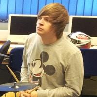Blake Beesley, Music Technology Student
