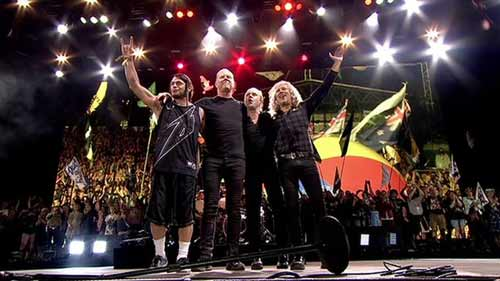 Metallica at Glastonbury Festival 2014